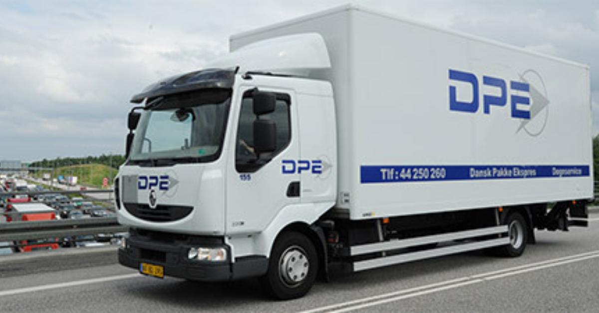 DPE København lastbil